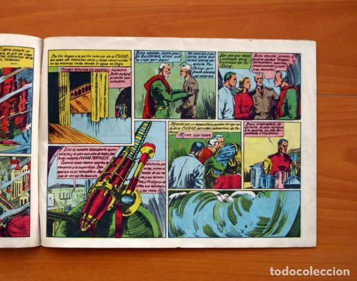 Tebeos: Víctor Alicia y el Profesor Guillermo de Alava-Nº 1 La Ciudad Submarina-Editorial J. L. Aguilar 1943 - Foto 5 - 146509566