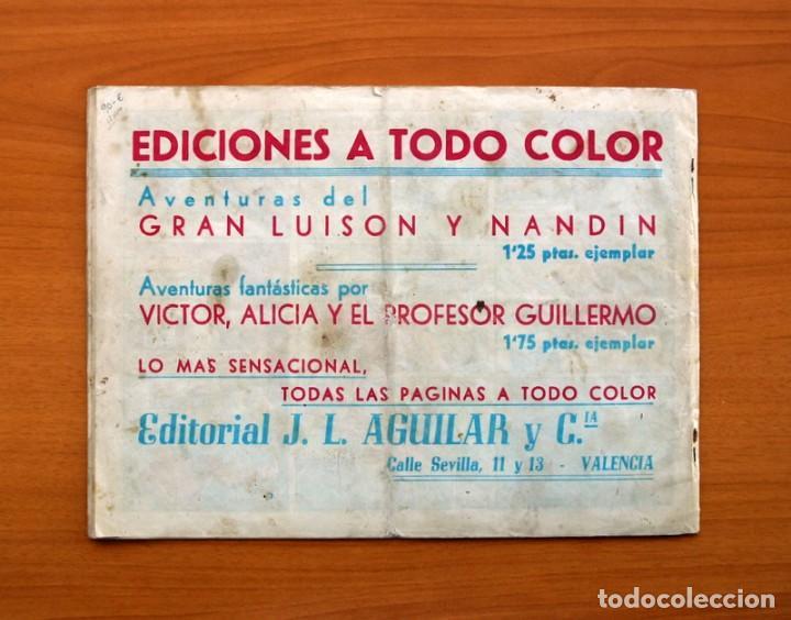 Tebeos: Víctor Alicia y el Profesor Guillermo de Alava-Nº 1 La Ciudad Submarina-Editorial J. L. Aguilar 1943 - Foto 7 - 146509566