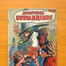 Tebeos: AVENTURAS SUBMARINAS - Nº 1, UN EXTRAÑO MUNDO SUBMARINO - EDITORIAL FERMA 1956. Lote 146868118
