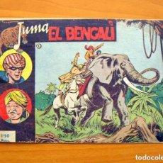 Tebeos: JUMA EL BENGALI - Nº 1 - EDITORIAL RICART 1954. Lote 146886314