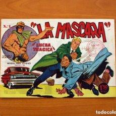 Tebeos: JIM DALE, LA MÁSCARA - LUCHA TRÁGICA, Nº 1 - EDITORIAL CREO 1961 - SIN ABRIR. Lote 146898734