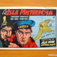 Tebeos: LA ISLA MISTERIOSA, Nº 1, PRIMERA PARTE - AVENTURAS CÉLEBRES - EDICIONES CLIPER 1942. Lote 146904154