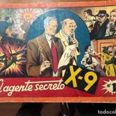 Tebeos: AGENTE SECRETO X 9 TOMO UNICO . Lote 148333830