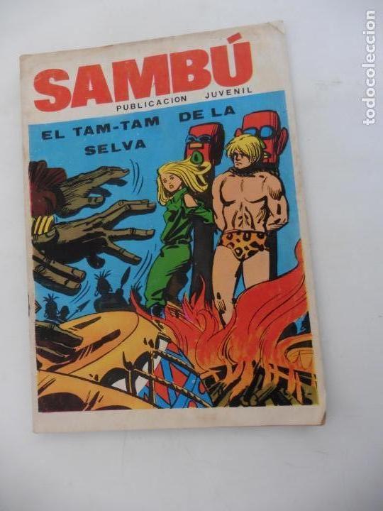 SAMBU Nº 1 EDITORIAL VILMA AÑOS 70 ORIGINAL (Tebeos y Cómics - Números 1)