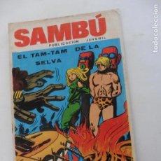 Tebeos: SAMBU Nº 1 EDITORIAL VILMA AÑOS 70 ORIGINAL. Lote 148787762