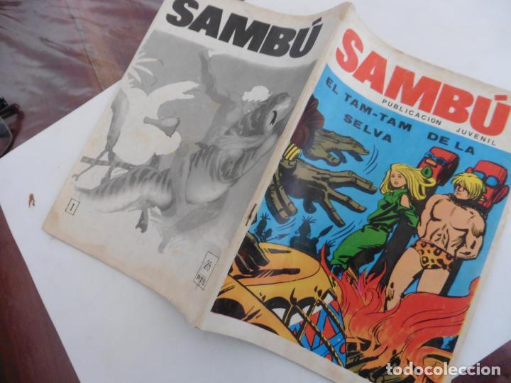 Tebeos: SAMBU Nº 1 EDITORIAL VILMA AÑOS 70 ORIGINAL - Foto 3 - 148787762