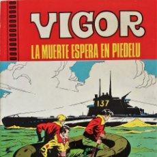 Tebeos: VIGOR Nº 1 - EDITA EUREDIT - AÑO 1970 - COMPLETO - MUY BUEN ESTADO. Lote 148929366