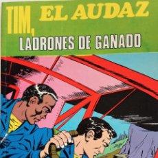Tebeos: TIM, EL AUDAZ Nº 1 - EDITA EUREDIT - AÑO 1970 - COMPLETO - MUY BUEN ESTADO. Lote 148929466