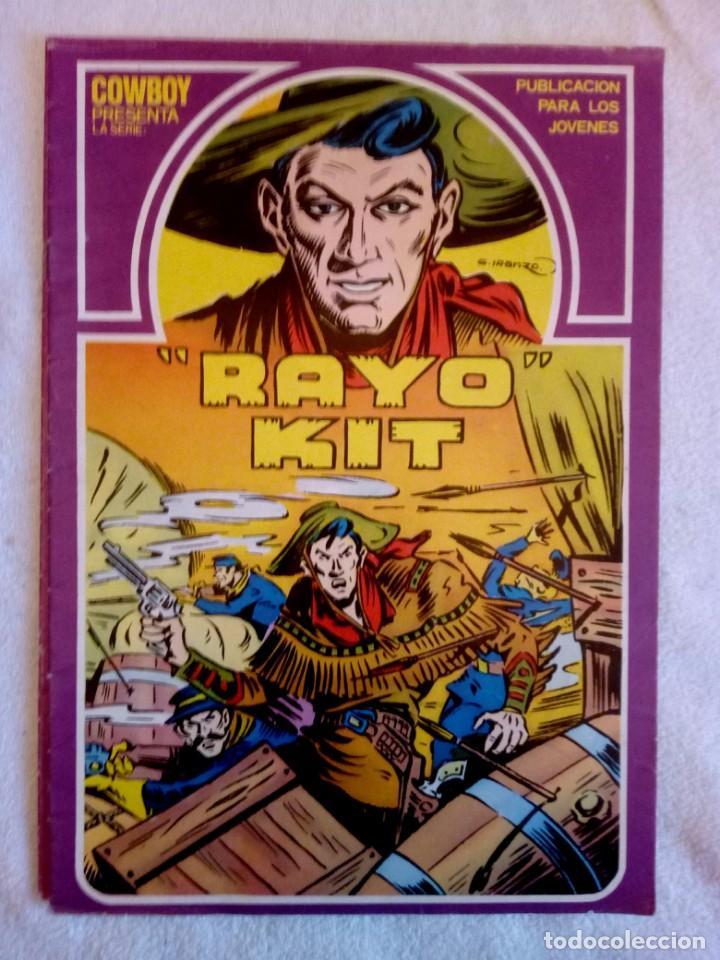 RAYO KIT Nº4 / SERIE COWBOY / URSUS 1982 / G. IRANZO (Tebeos y Cómics - Números 1)