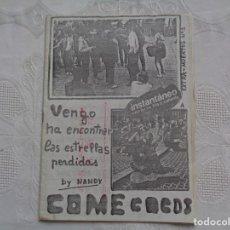 Livros de Banda Desenhada: FANZINE MUERTOS AGRADECIDOS. EXTRA-MUERTOS Nº 1. SANTANDER, 1977. . Lote 149644338