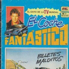 Tebeos: EL COCHE FANT?STICO. MC 1987. N¼ 1. Lote 151671641