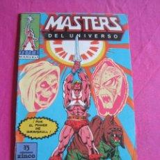 Tebeos: MASTERS DEL UNIVERSO HE MAN NUMERO 1 ZINCO. Lote 153079810