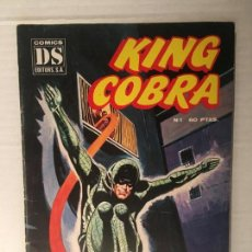 Tebeos: TEBEO COMIC KING COBRA NUMERO 1 DS COMIC AÑOS 80. Lote 153884402