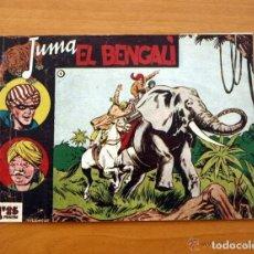 Tebeos: JUMA EL BENGALÍ - Nº 1 - EDITORIAL RICART 1954. Lote 154016194