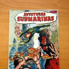 Tebeos: AVENTURAS SUBMARINAS - Nº 1 UN EXTRAÑO MUNDO SUBMARINO - EDITORIAL FERMA 1956. Lote 154103238