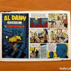 Tebeos: AL DANY Nº 1, EL PLANETA AZUL - EDICIONES CLIPER 1953 - TAMAÑO 18X26. Lote 154112962