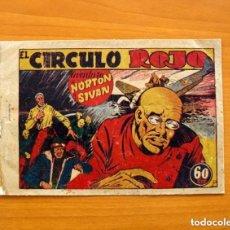 Tebeos: AVENTURAS DE NORTON Y SIVAN Nº 1, EL CIRCULO ROJO - PUBLICACIONES IBEROAMERICANAS 1948- TAMAÑO 23X20. Lote 154125622
