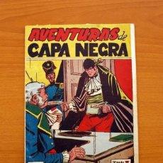 Tebeos: AVENTURAS DE CAPA NEGRA Nº 1, TOMO - EDITORIAL RICART 1954 - TAMAÑO 23X17 - VER FOTOS. Lote 154156594
