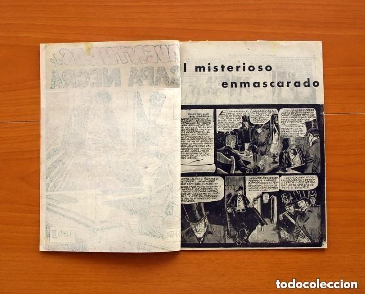 Tebeos: Aventuras de Capa Negra nº 1, Tomo - Editorial Ricart 1954 - Tamaño 23x17 - ver fotos - Foto 2 - 154156594