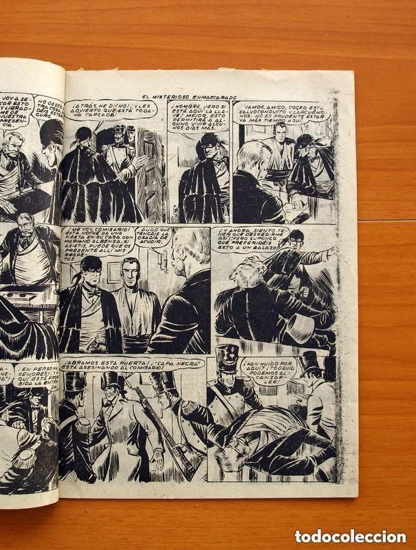 Tebeos: Aventuras de Capa Negra nº 1, Tomo - Editorial Ricart 1954 - Tamaño 23x17 - ver fotos - Foto 3 - 154156594