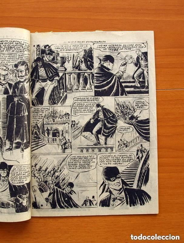 Tebeos: Aventuras de Capa Negra nº 1, Tomo - Editorial Ricart 1954 - Tamaño 23x17 - ver fotos - Foto 4 - 154156594