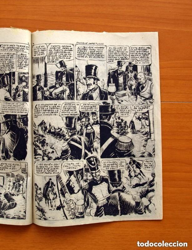 Tebeos: Aventuras de Capa Negra nº 1, Tomo - Editorial Ricart 1954 - Tamaño 23x17 - ver fotos - Foto 5 - 154156594