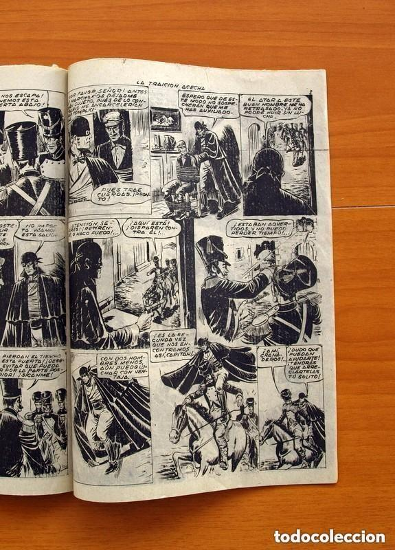 Tebeos: Aventuras de Capa Negra nº 1, Tomo - Editorial Ricart 1954 - Tamaño 23x17 - ver fotos - Foto 6 - 154156594