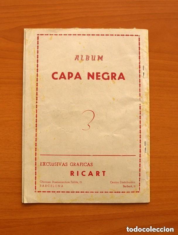 Tebeos: Aventuras de Capa Negra nº 1, Tomo - Editorial Ricart 1954 - Tamaño 23x17 - ver fotos - Foto 8 - 154156594