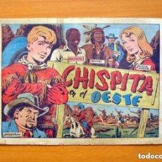 Tebeos: CHISPITA 2ª AVENTURA Nº 1, CHISPITA EN EL OESTE - EDITORIAL GRAFIDEA 1952. Lote 154241734