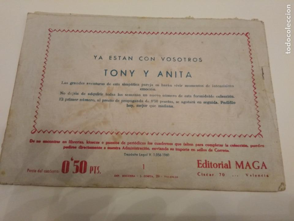 Tebeos: TONY Y ANITA LOS ASES DEL CIRCULO N° 1 - Foto 4 - 154564734