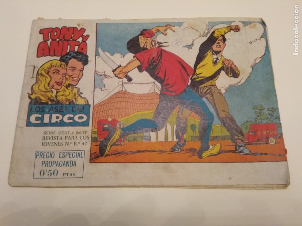 TONY Y ANITA LOS ASES DEL CIRCULO N° 1 (Tebeos y Cómics - Números 1)