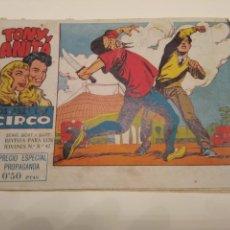Tebeos: TONY Y ANITA LOS ASES DEL CIRCULO N° 1. Lote 154564734