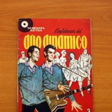 Giornalini: SERENATA EXTRA - CONFIDENCIAS DEL DÚO DINÁMICO, Nº 1 - EDICIONES TORAY 1959 - CON EL PÓSTER CENTRAL. Lote 154660238