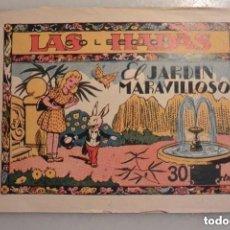 Tebeos: TEBEO COLECCION LAS HADAS EL JARDIN MARAVILLOSO. Nº 1 EDICIONES MARCO. 1943. Lote 155529298