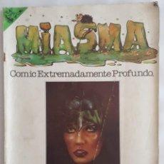 Tebeos: COMIC / MIASMA DE ANIMACULOS Nº 1 1981. Lote 156248526