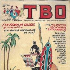 Tebeos: TBO Nº 1. EDICIONES B, 1988. Lote 156845018