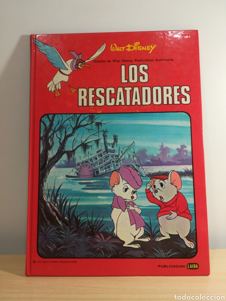 WALT DISNEY - LOS RESCATADORES - 1977 (Tebeos y Cómics - Números 1)
