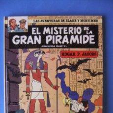 Tebeos: LAS AVENTURAS DE BLAK4 Y MORTIMER Nº 1 EL MISTERIO DE LA GRAN PIRAMIDE EDICIONES JUNIOR 1983. Lote 161888994