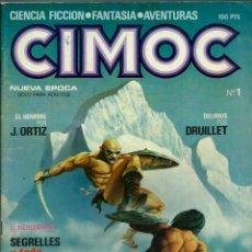 BDs: CIMOC Nº 1 - NUEVA EPOCA - NORMA EDITORIAL 1980 - CON EL MERCENARIO, HOMBRE DE ORTIZ, MAROTO, ETC.. Lote 162292898