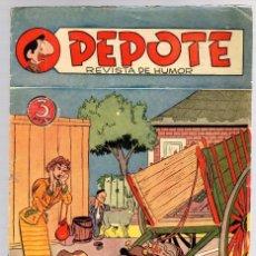 Giornalini: PEPOTE REVISTA DE HUMOR. Nº 1. ORIGINAL. EDITORIAL ROLLAN. 15 DE MAYO DE 1953. Lote 162910096