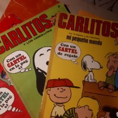 Tebeos: TRES PRIMEROS NÚMEROS COLECCION CARLITOS. Lote 163450022