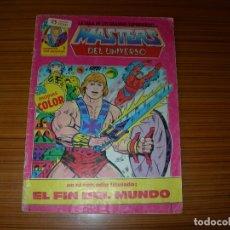 Tebeos: MASTERS DEL UNIVERSO Nº 1 EDITA ZINCO . Lote 164683418