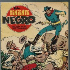 Tebeos: EL TENIENTE NEGRO - NUMERO Nº 1 - BRUGUERA 1962 - ORIGINAL - EN MUY BUEN ESTADO. Lote 165389826