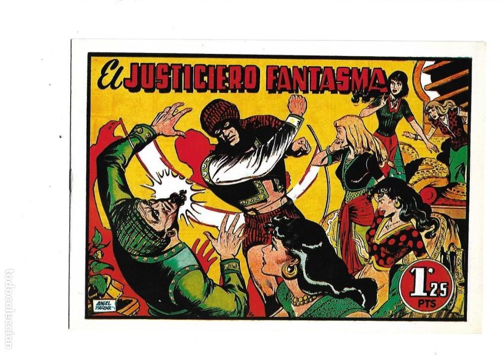 EL JUSTICIERO FANTASMA, Nº 1. ES DE REEDICIÓN DIBUJOS ÁNGEL PARDO. (Tebeos y Cómics - Números 1)