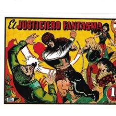 Tebeos: EL JUSTICIERO FANTASMA, Nº 1. ES DE REEDICIÓN DIBUJOS ÁNGEL PARDO.. Lote 166147942