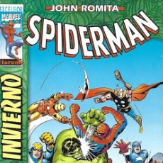 Tebeos: SPIDERMAN DE JOHN ROMITA. FORUM/PANINI 1999. EXTRA 3 ESPECIAL INVIERNO 2001. Lote 166516521