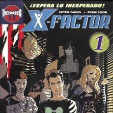 Tebeos: X-FACTOR. PANINI 2006. Nº 1. Lote 166516565