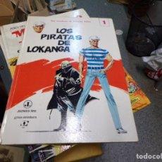 Tebeos: LOS PIRATAS DE LOKANGA NUMERO 1 JAIMES LIBROS MUY BUEN ESTADO. Lote 168287152