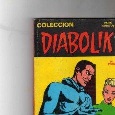 Tebeos: TRAMPA PELIGROSA, COLECCION DIABOLIK Nº 1. Lote 168521892