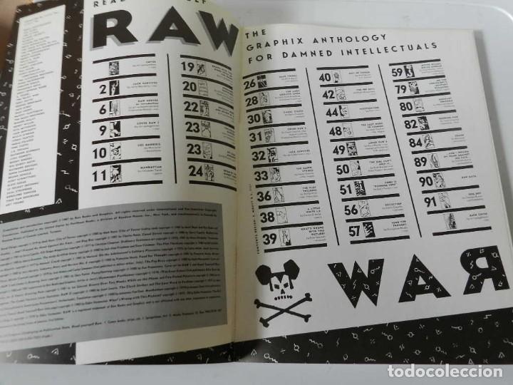 Tebeos: RAW Nº 1 , 2 Y 3 ART SPIEGELMAN - WINSOR MC CAY - MARISCAL - MUÑOZ & SAMPAYO - BURNS - TARDI - COMIC - Foto 5 - 169332584